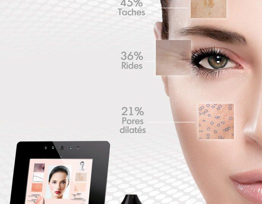 Votre diagnostic de peau avec le SKINTEX DIAG chez Lauriane Beauté